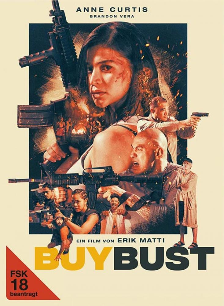 BuyBust - 2-Disc Limited Collectors Edition im Mediabook BR+DVD