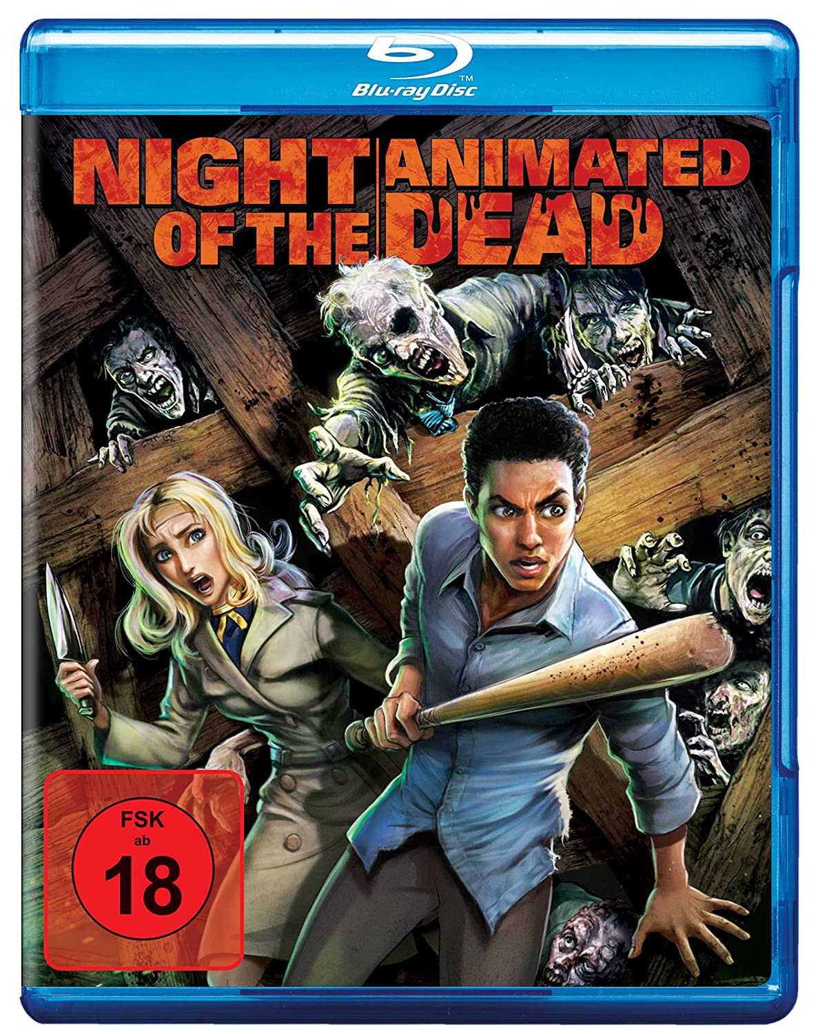 Night of the Animated Dead - Blu-ray