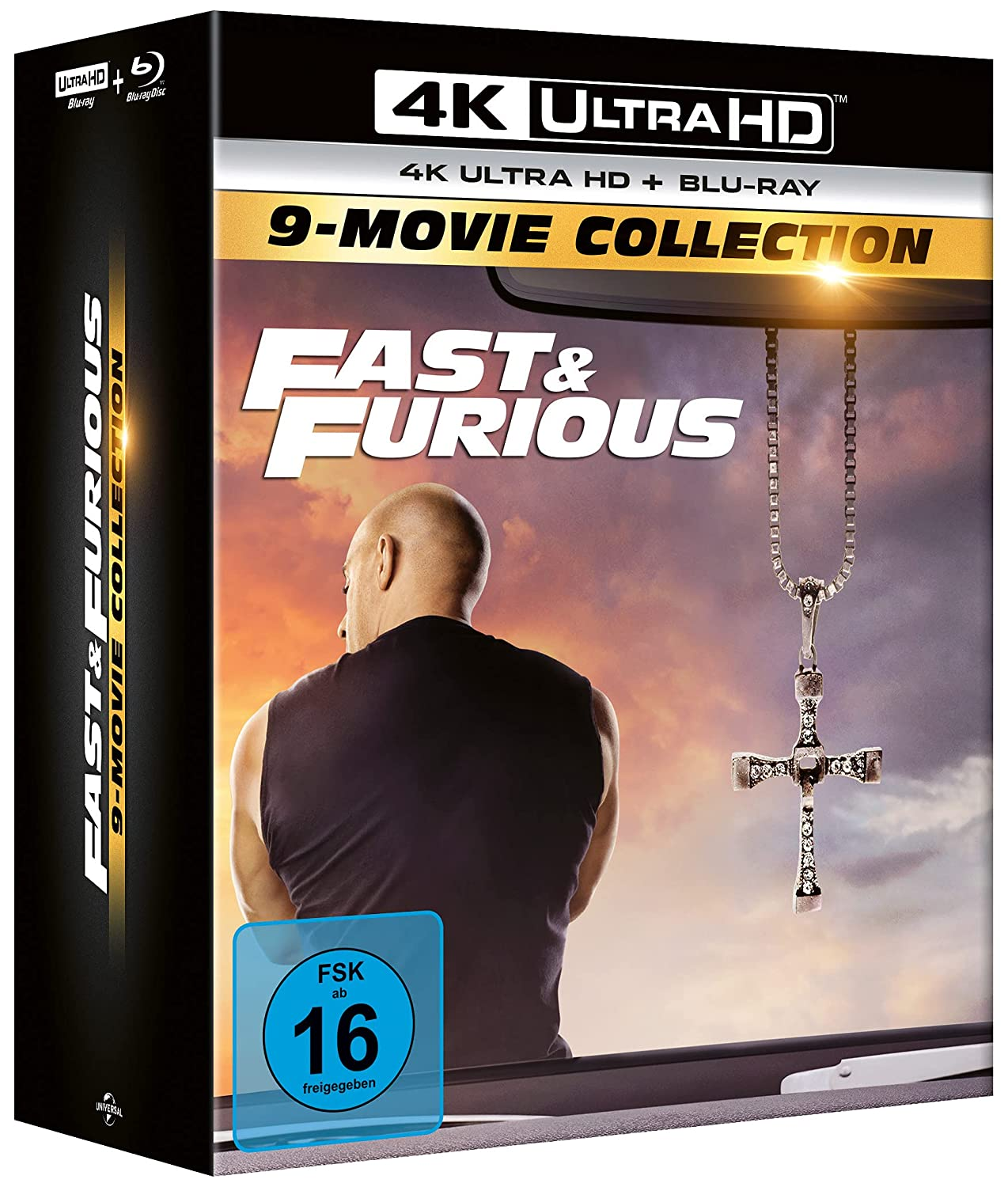 Fast & Furious 9 Movie Collection - 4K UHD