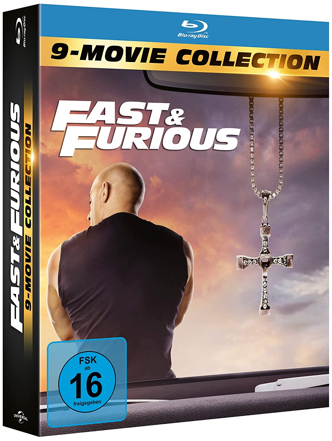 Fast & Furious 9 Movie Collection - Blu-ray