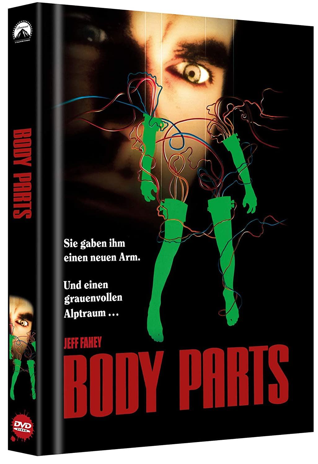 Body Parts - Limited Collectors Edition Mediabook (Cover B) - limitiert auf 400 Stk.