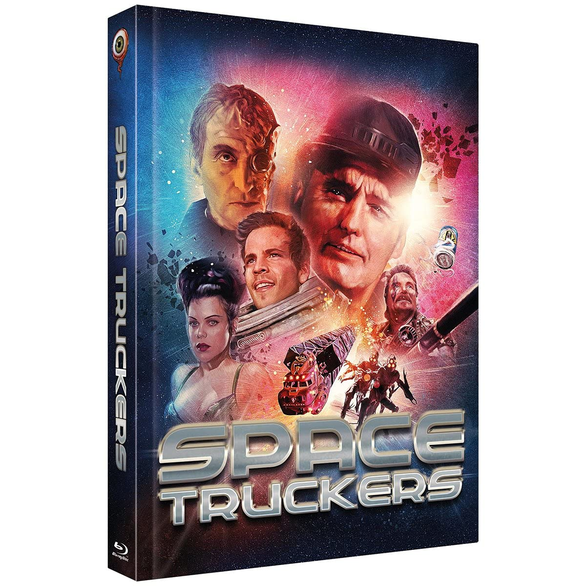 BR+DVD Space Truckers - 2-Disc Limited C ollectors Edition Mediabook (Cover B) - limitiert auf 444 Stk.