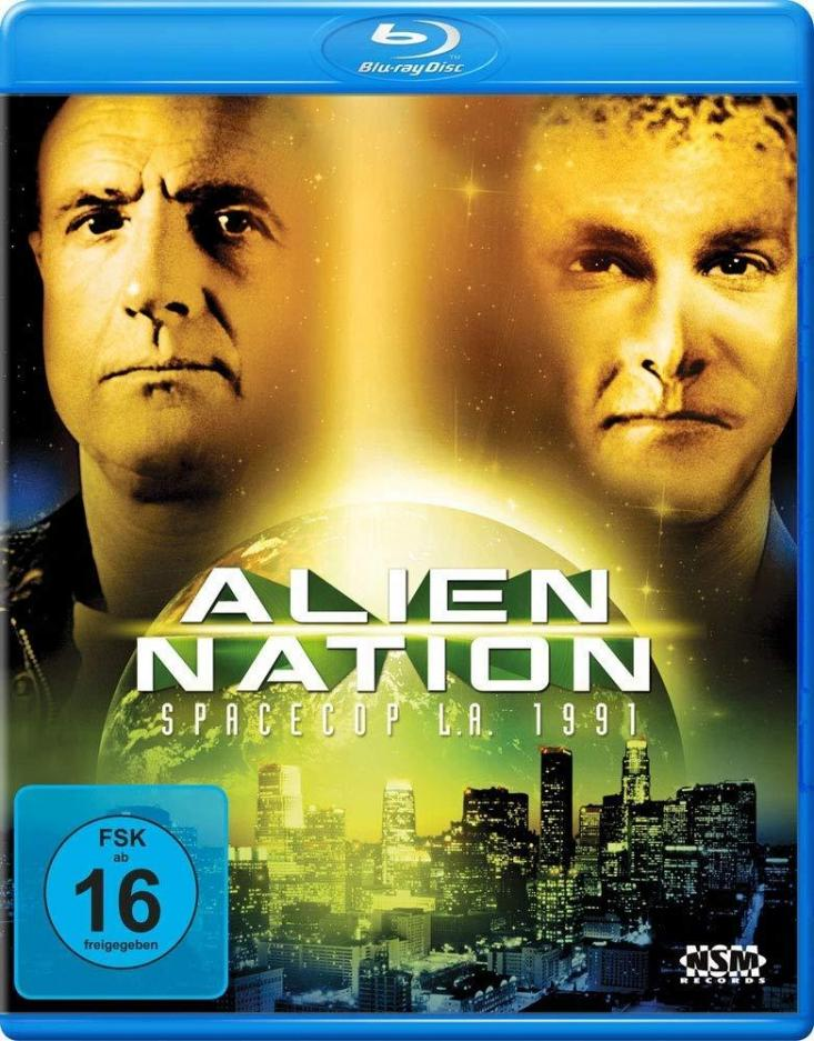 Alien Nation - Spacecop L. A. 1991 Blu Ray