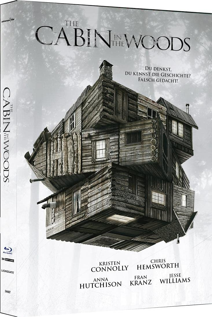 BR The Cabin in the Woods (4K UHD) - 2-D isc Mediabook (Cover C) - limitiert auf 333 Stk.