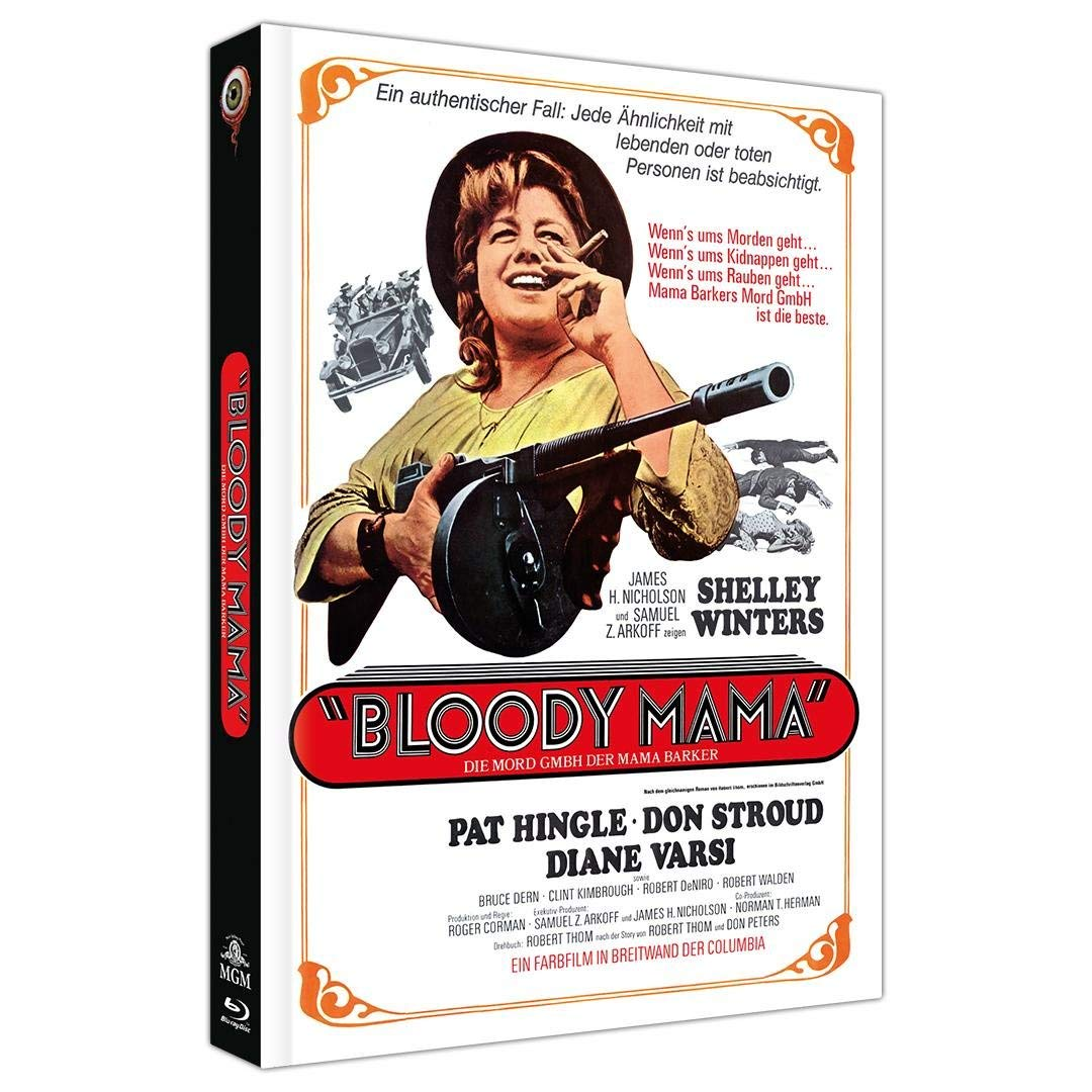 BR+DVD Bloody Mama - 2-Disc Limited Coll ectors Edition Mediabook (Cover A) - lim itiert auf 444 Stück